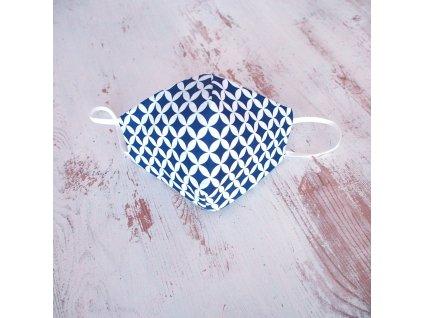 Bavlněná rouška dvouvrstvá mandala