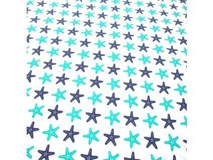 bavlněná látka hvězdice (2)