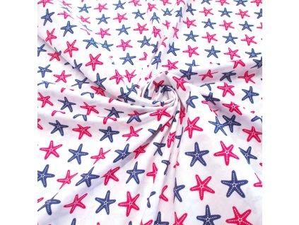 bavlněná látka hvězdice 2 (3)