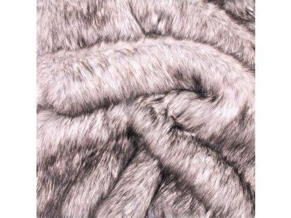 kožešina hnědo černá (2)