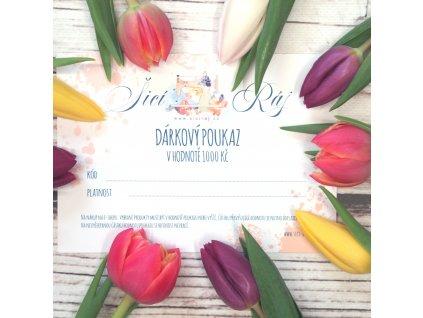 Dárkový poukaz 1000kc