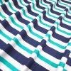 4658 bavlnena latka tyrkysovo modry prouzek