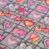 4997 dekoracni latka ruzova srdicka
