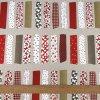 6299 dekoracni latka cerveny patchwork