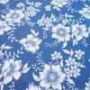 bavlněná látka modrotisk