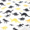 bavlněná látka dinosauři