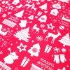 vánoční látka vánoce v lese