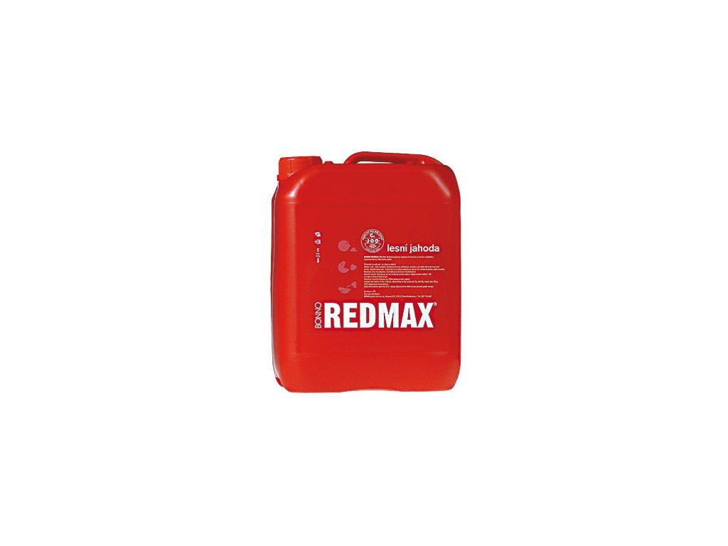 Sirup - nápojový koncentrát Redmax Lesní jahoda - 5 litrů