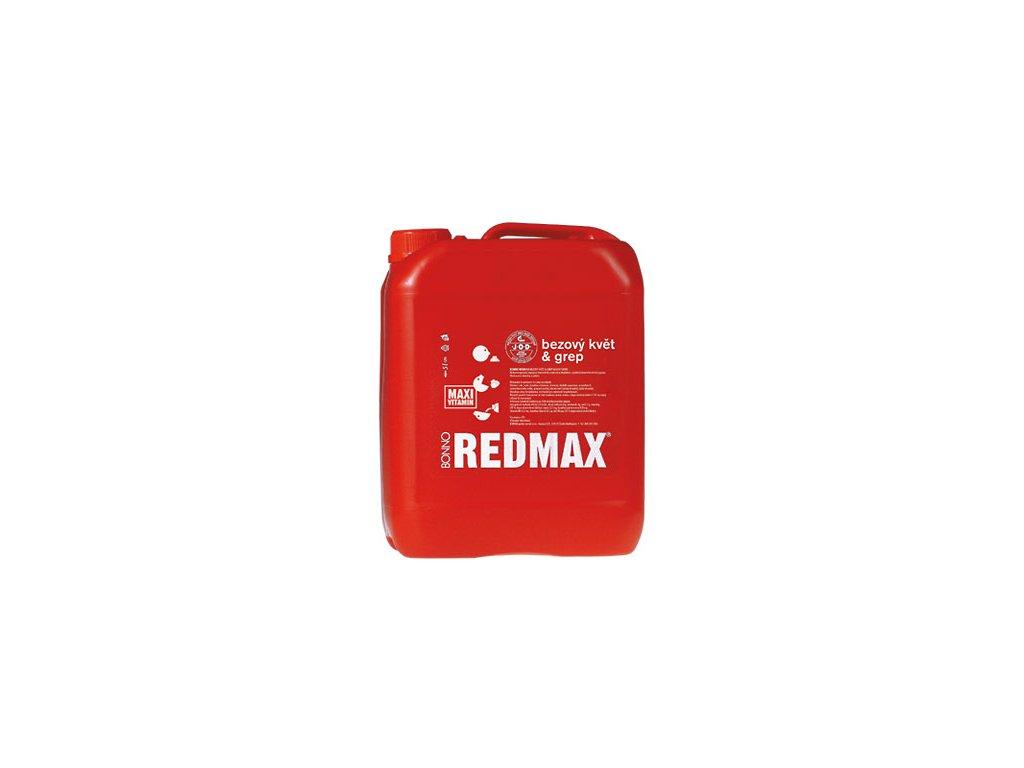 Sirup - nápojový koncentrát Redmax Bezový květ & grep - 5 litrů