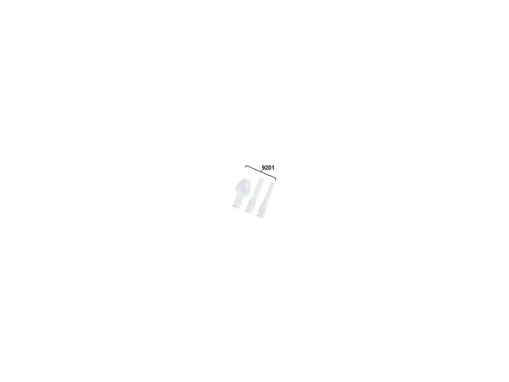 Zdobítka (3 ks) pro šlehačkovou láhev CREAM (9201)