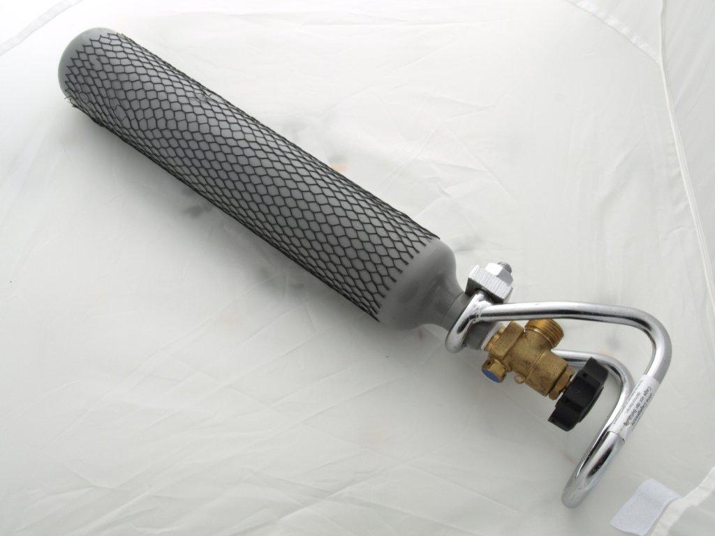 Tlaková láhev CO2 0,5 kg (500 gramů) s ochranným košem W21,8x1/14