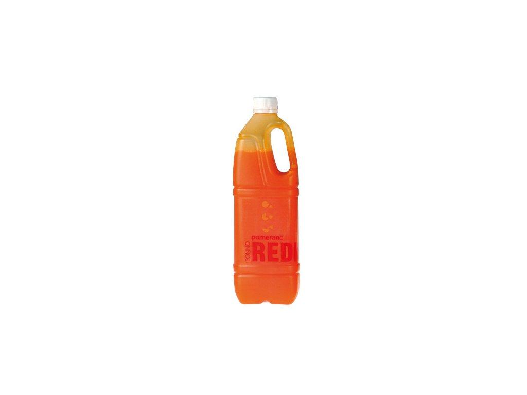 Sirup - nápojový koncentrát Redmax Pomeranč - 1 litr