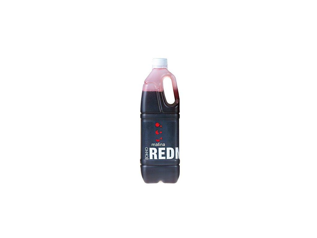 Sirup - nápojový koncentrát Redmax Malina - 1 litr