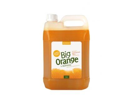 Sirup - nápojový koncentrát BigDrinks Big Orange - 5 litrů
