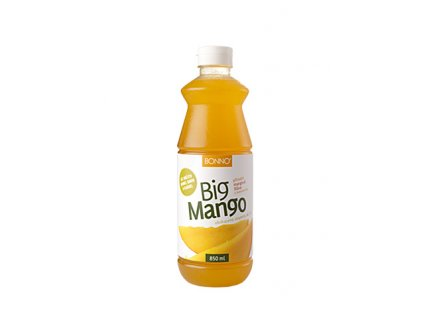 Sirup - nápojový koncentrát BigDrinks Big Mango - 0,85 litru