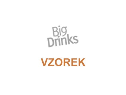 Sirup BigDrinks Big Mango - vzorek