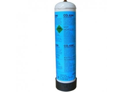 Bombička 600 gr CO2 pro výčepy a ledničky jednorázová