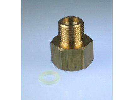 """Redukce ventilu tlakové lahve CO2 G3/4"""" na W21,8x1/14"""""""