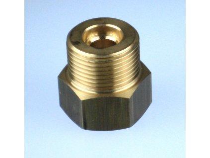 """Redukce ventilu tlakové lahve CO2 W21,8x1/14"""" na G3/4"""""""