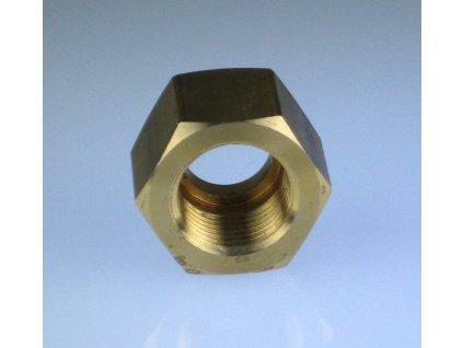Převlečná matice pro připojení k ventilu CO2 W21,8x1/14
