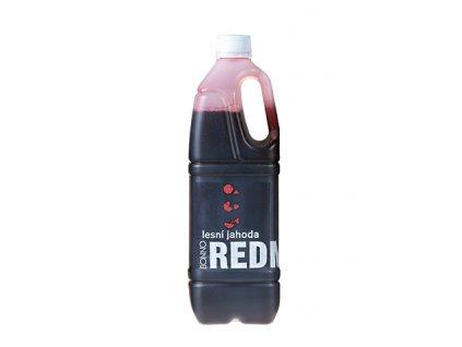 Sirup - nápojový koncentrát Redmax Lesní jahoda - 1 litr