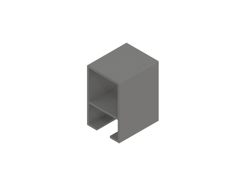2807713 signtech al profil rámovací drážka 10mm nextline N2540 elox