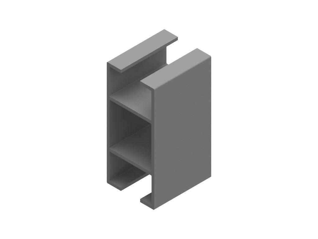 2807714 signtech al profily výstavní rám s deskou drážka 10mm nextline N2550 elox