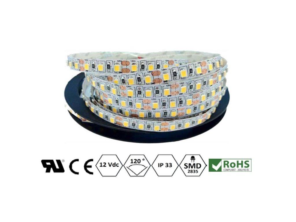 ECO LED pásek 8 mm   9,6 W   120x2835   IP33   2.700K