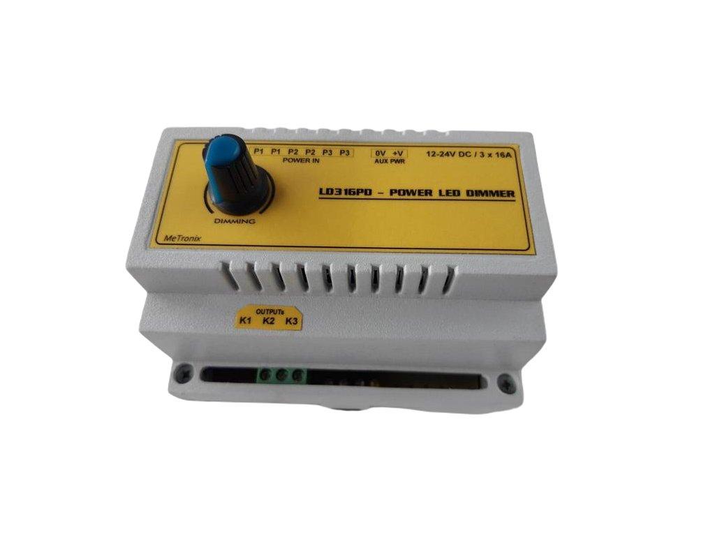 Výkonový LED stmívač s potenciometrem 3x16A 2803412 1