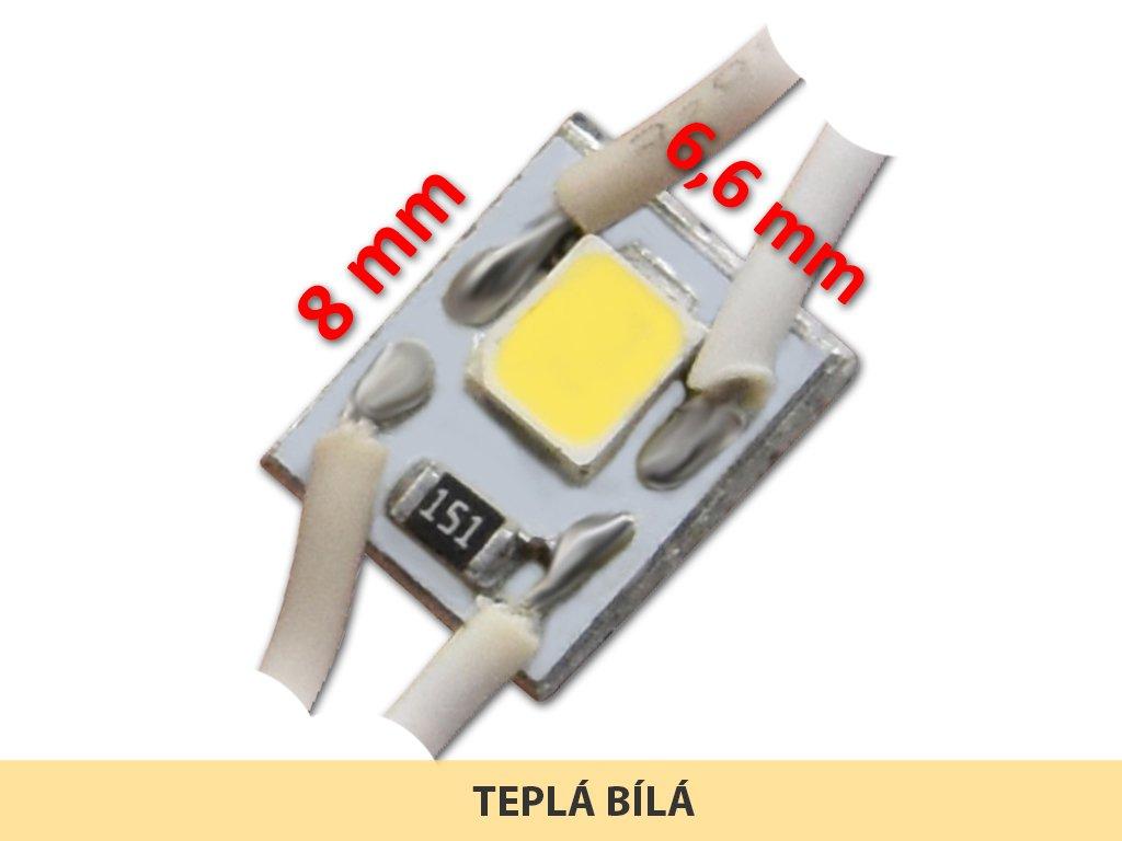 MICRO LED modul 01 | 0,3 W | 120° | 2700K