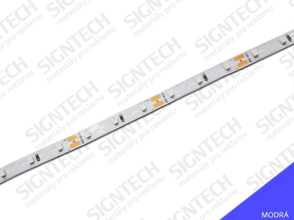 ECO LED pásek 8 mm | 6 W | 60x3528 | modrá | IP33