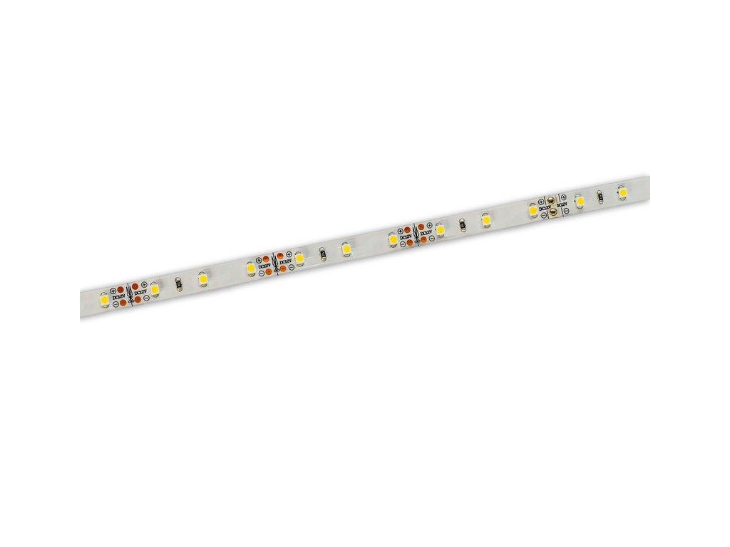 ECO LED pásek 8 mm   6 W   60x3528   12VDC   IP33   3.000K