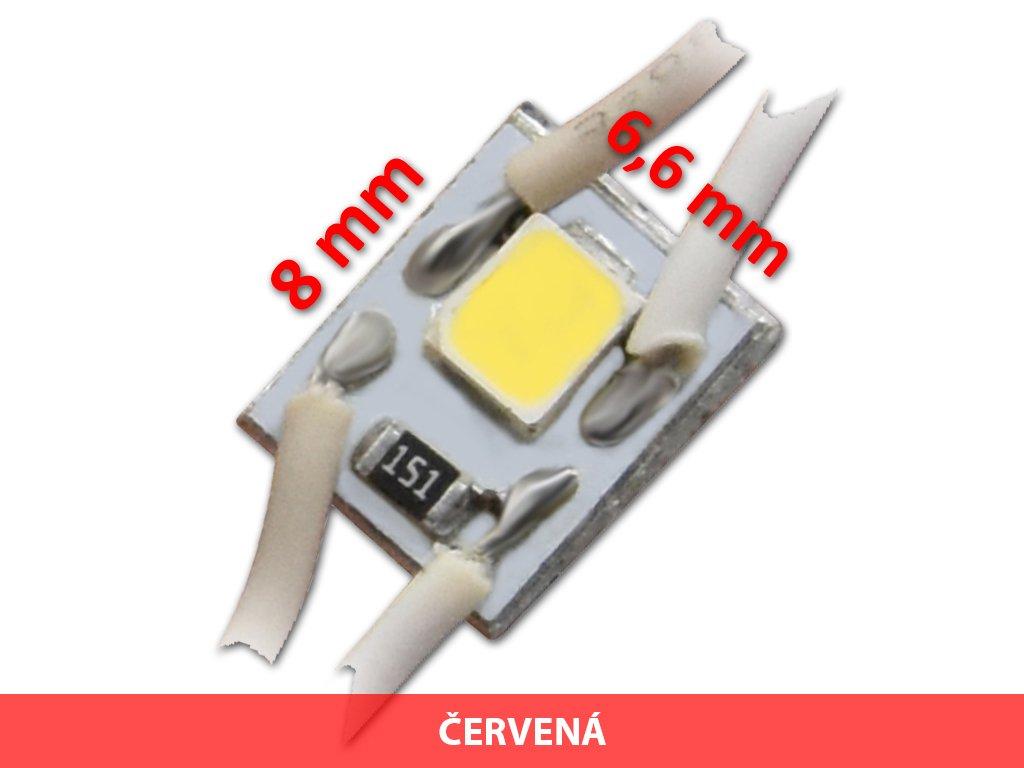 signled mikro mini led modul cervena