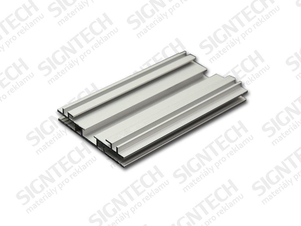TX PROFIL | 60x11 mm | oboustranný | elox