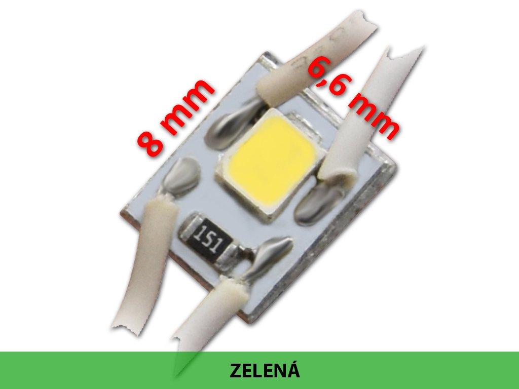 2801315 micro led modul zelený