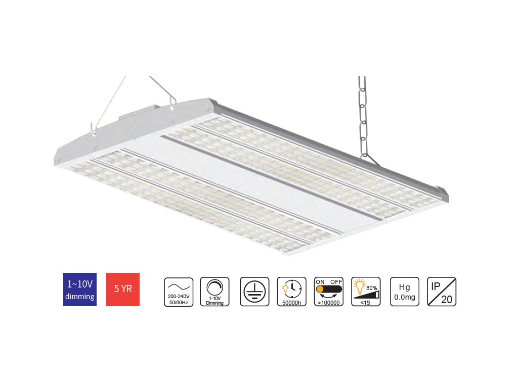 High Bay product reflective linear