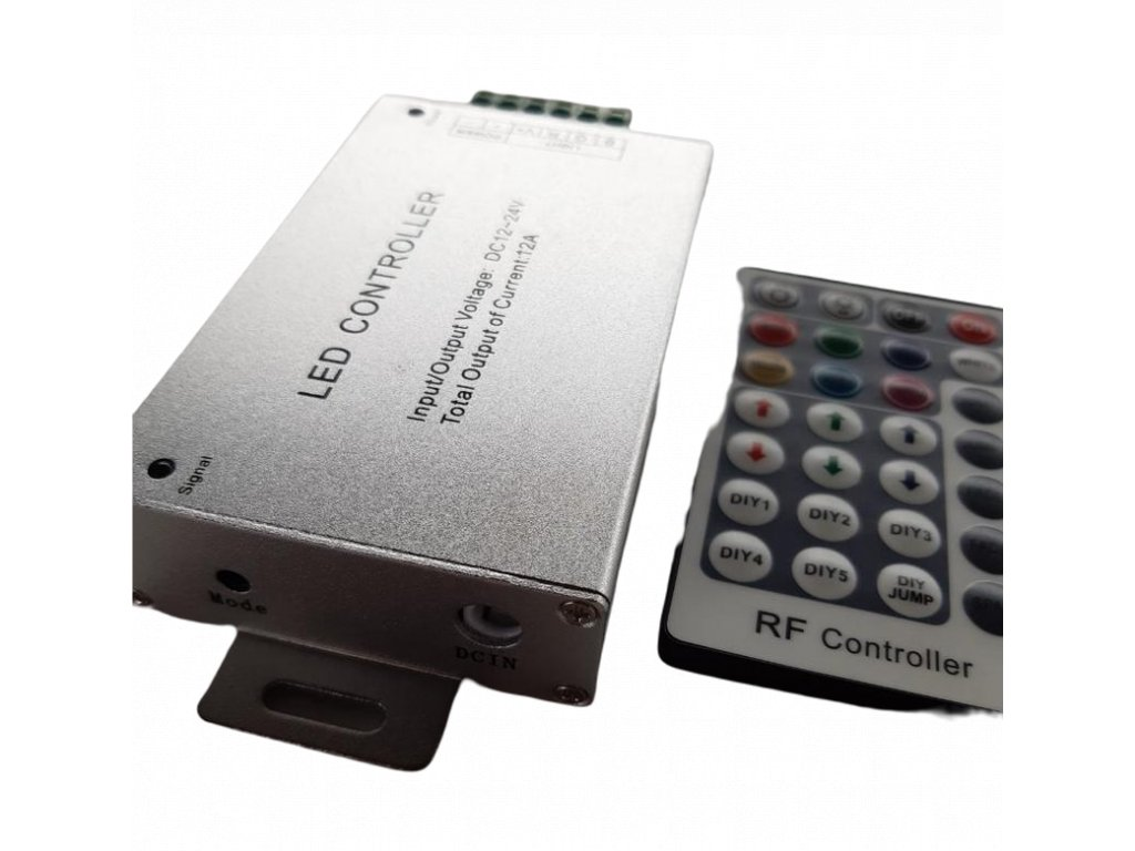 RGB kontrolér s IR ovladačem 3x4A 2802502 3