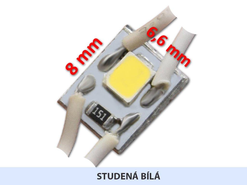 MICRO LED modul 01 | 0,1 W | 120° | 6.500K