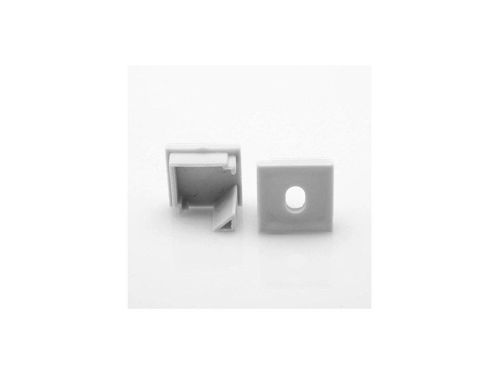 310011619 corner 16 koncovka profilu pro led pasek