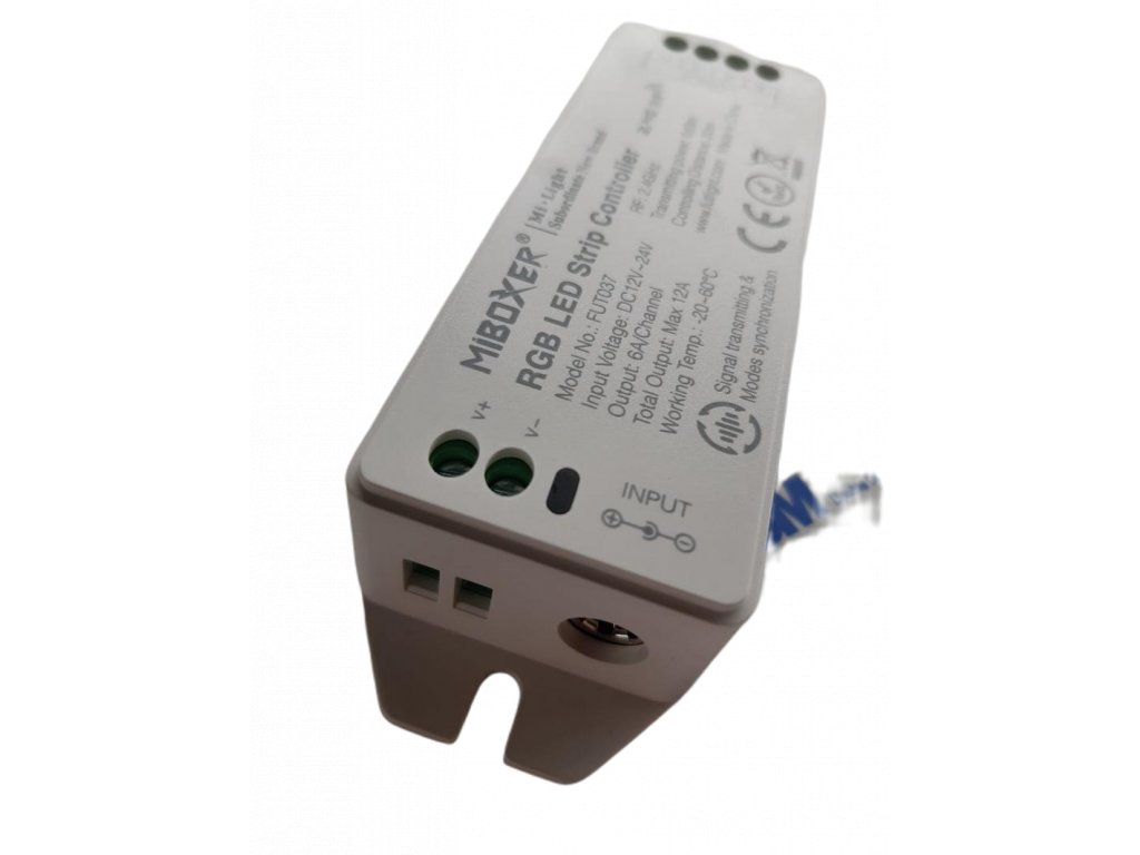 Kontrolér 2.4G RGB DC12 24V Max 12A 6A pro jeden kanál 2803415 3