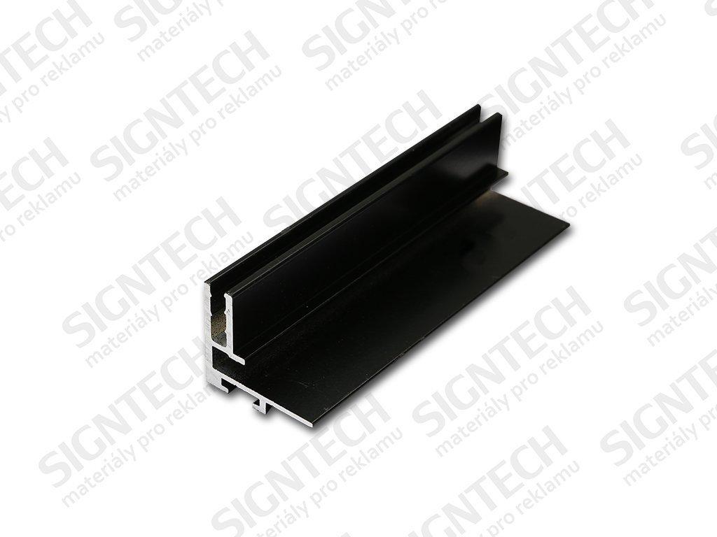 TX PROFIL | 27x30 mm | 6,1 m | elox černý