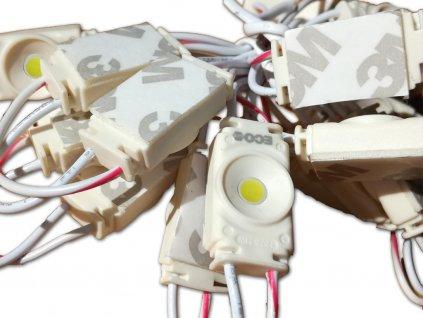 ECO modul 1LED | 0,24 W | 120° (Barva světla červená)