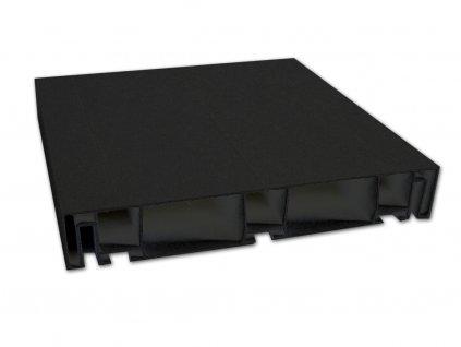 PVC PROFIL   černý