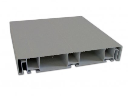 PVC PROFIL   šedý