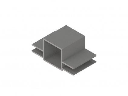 2807711 signtech hliníkové profily rovné rámovací dvě drážky nextline N2520 elox