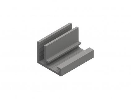 Signtech hlinikovy profil 1 pro textil 17mm