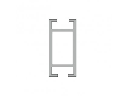 2805020 signtech hliníkový profil výztužný pro kendu frame