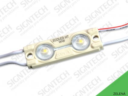 ECO AL modul 2LED | 0,48 W | 160° | IP67 | zelená