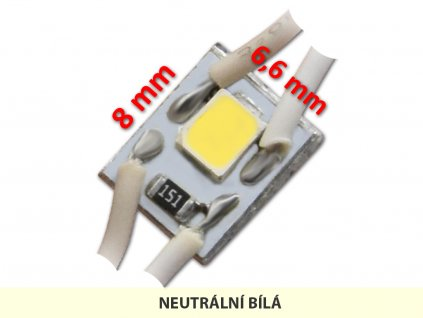 MICRO LED modul 01 | 0,3 W | 120° | 4.000K