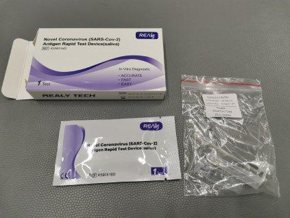 Antigenní test Rapid-Novel Coronavirus (SARS-Cov-2) | ZE SLIN | 100 ks
